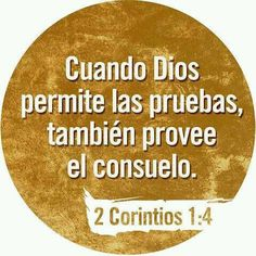 """""""... el cual nos consuela en todas nuestras tribulaciones, para que podamos también nosotros consolar a los que están en cualquier tribulación, por medio de la consolación con que nosotros somos consolados por Dios"""""""