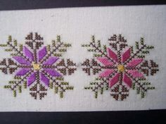 Swedish Embroidery, Hardanger Embroidery, Cross Stitch Embroidery, Hand Embroidery, Cross Stitch Borders, Cross Stitch Designs, Cross Stitching, Cross Stitch Patterns, Machine Embroidery Designs