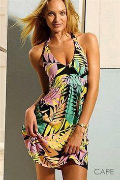 CAPE Letní šaty, plážové šaty dámské barevné