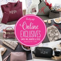 Special Online Exclusives starting October 1, 2017 at www.mythirtyone.com/APM31