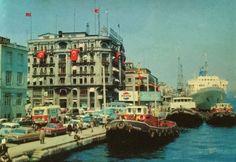 https://flic.kr/p/zEykuE | Istanbul 1960s | Karaköy
