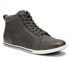 Rock & Republic® Men's Perforated High-Top Sneakers