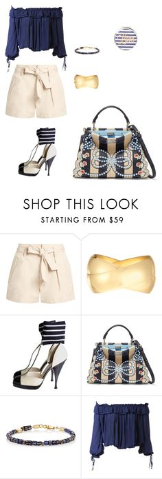 """💙❤️😘"" by mrsagosto ❤ liked on Polyvore featuring Étoile Isabel Marant, Kenneth Jay Lane, Chanel, Fendi, Caputo & Co. and Dsquared2"
