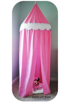 Living with Punks: Tutorial: Children's Play Tent