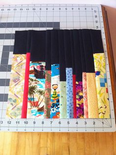 International Stashes: Jamie's Bookcase Quilt - August