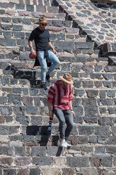 Julian Edelman and Danny Amendola in Teotihuacan, Mexico | New England Patriots