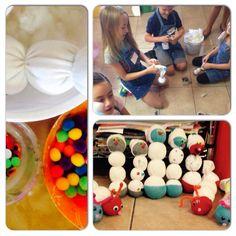 #kids crafts, muñecos con calcetines