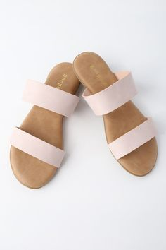 f5cae6a0b81c The Oona Blush Slide Sandals are so comfy and cute
