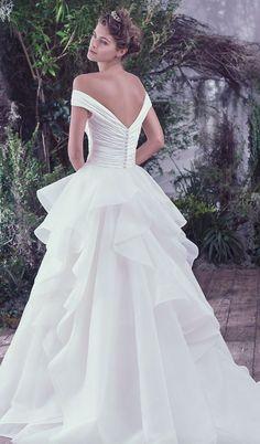 Wedding dress idea; Via Maggie Sottero