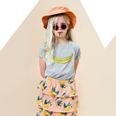 Little Man happy  ss 2016 Lookbook #kidsfashion # summer #bananas
