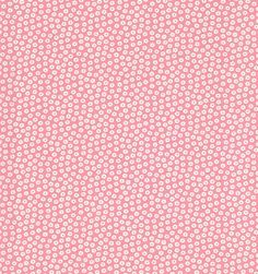 Printed Cotton Daisy Pink