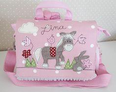 Kindergartentaschen - Kindergartenrucksack/ Kindergartentasche Pferd - ein Designerstück von Feinerlei bei DaWanda