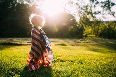 The American flag photoshoot Portra 400, Kodak Portra, Flag Photoshoot, American Flag Scarf, Best Portraits, Fourth Of July, Portrait Photography, Freedom, Minis