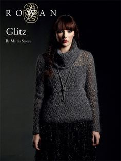 Glitz Sweater in Rowan Kidsilk Haze Glamour. Discover more Patterns by Rowan at LoveKnitting. The world's largest range of knitting supplies - we stock patterns, yarn, needles and books from all of your favorite brands.