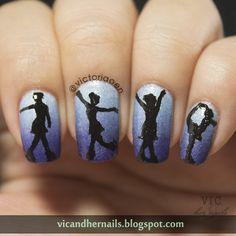 Vic And Her Nails Digital Dozen Does Winter Wonderland Day 2 Ice Dancers