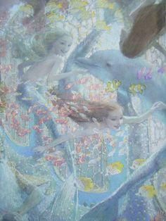 Christian Birmingham -The little Mermaid (detail)