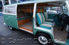 vw bus interior | 1968 Used Volkswagen Bus T2 at Cardiff Classics Serving Encinitas, IID ...