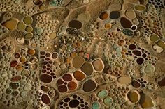 Seen from a plane the salt making village of Teguidda-n-Tessount, Niger