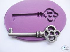 Skeleton Key Mold 1 -Silicone Mold - Steampunk - Polymer Clay Resin Fondant