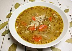 Zupa z kurczaka a'la flaczki