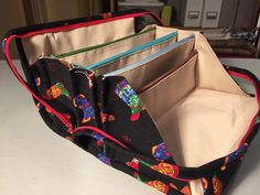 """Zipped closed I made this bag. It's the """"Bionic Gear Bag"""" (pattern available on Craftsy ). I cannot remember where I first saw mention o..."""