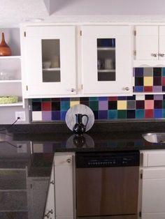 Colorful Kitchen Backsplashes