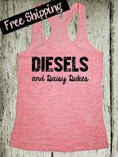 Diesels and Daisy Dukes. Southern Girl Tank by BlessonsApparel Southern Outfits, Country Outfits, Preppy Outfits, Cute Outfits, Southern Clothing, Summer Outfits, Cute N Country, Country Girl Style, My Style