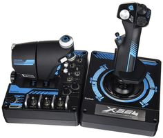 To get the most out of your basic flight Sim game, joysticks are a must. But which one is the best flight simulator joystick? Click through and find out . High Tech Gadgets, Electronics Gadgets, Microsoft, Gaming Room Setup, Software, Hardware, Simulation Games, Game Controller, Logitech
