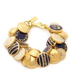Coach Nautical Button Bracelet. Get the lowest price on Coach Nautical Button Bracelet and other fabulous designer clothing and accessories! Shop Tradesy now