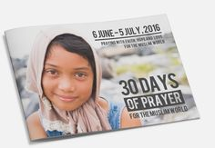 Join Christians across the globe in praying 30 days for the Muslim world this Ramadan. // The all-new 2016 30 Days of Prayer booklet is here! Now available in 22+ languages. Get yours today.