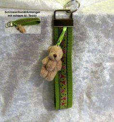 Schlüsselband  Zwerge +  Teddyanhänger  von ღKreawusel-Designღ auf DaWanda.com
