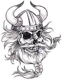 Black And White Viking Skull Tattoo Design: Real Photo Pictures . Viking Skull, Viking Helmet, Viking Art, Viking Warrior, Henna Tattoo Designs, Skull Tattoo Design, Viking Tattoo Design, Skull Design, Maori Tattoos