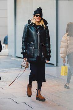 Street style à la Fashion Week homme automne-hiver 2018-2019 de Londres Crédit photo : Jonathan Daniel Pryce
