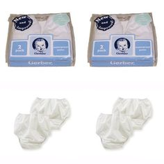Gerber Plastic Pants, 18 Months, Fits 24-28 lbs. (4 pairs)   Gerber Pullon Plastic Pants - The least expensive way to cover cloth diapers. Also used over training pants and over disposable diapers. Read  more http://shopkids.ca/gerber-plastic-pants-18-months-fits-24-28-lbs-4-pairs/