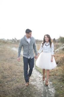 Camano Island Engagement | Photos - Style Me Pretty