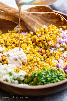 Corn Salad Recipes, Salad Recipes For Dinner, Corn Salads, Appetizer Recipes, Appetizers, Fresh Corn Salad, Summer Corn Salad, Make Ahead Salads, Mexican Street Corn Salad