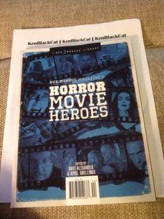 BRAND-NEW-Rue-Morgue-Magazines-Horror-Movie-Heroes-Uncirculated #ebay #kenblackcat #sold #ruemorgue #horrormovieheroes #bracelet