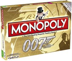 Monopoly James Bond 50th Anniversary Edition  This edition of Monopoly is released in summer 2012. It includes imagery from all 23 Bond films - even the latest production SkyFall.