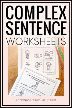 These sentences target complex sentence practice for your early learners. These speech therapy activities target conjunctions including: because, if, since and before and after. All activities are pictures supported so they are great for your non-readers. These sheets can be used in distance learning packets. This effective, no activity is appropriate for your elementary students including first, second and third grade students. Perfect for the busy teacher or speech therapist!