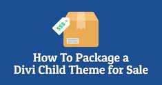Have you ever wanted to sell Divi child themes but did not know where to start? How about repackaging existing Divi websites you have into a child theme