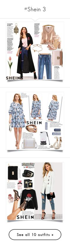 """""""#Shein 3"""" by kristina779 ❤ liked on Polyvore featuring Dolce&Gabbana, LunatiCK Cosmetic Labs, Avon, Thierry Mugler, John Lewis and Stephen Webster"""
