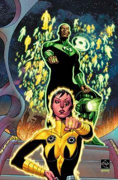 Buzz Comics, le forum comics qui pense très fort à toi Bouzouk !! - Afficher un message - Hal Jordan and the Green Lantern Corps #8