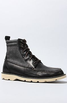The Cloud Shipyard Rigger Boot in Black