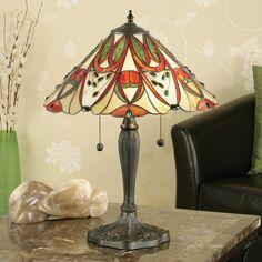 Lampada da Tavolo Tiffany / Abatjour Tiffany Art Nouveau