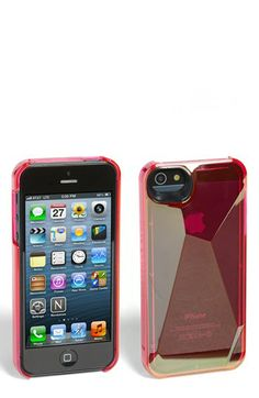 MARC BY MARC JACOBS 'Metallic 3D' iPhone 5 & 5S Case available at #Nordstrom