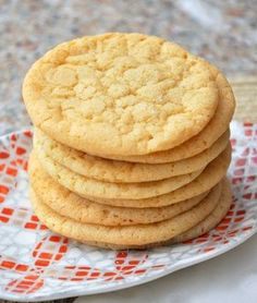 Double Vanilla Sugar Cookies - including recipe to make your own vanilla sugar.