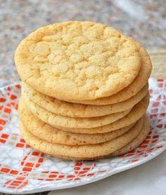 Double Vanilla Sugar Cookies - including recipe to make your own vanilla sugar.
