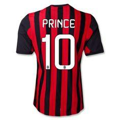 camisetas Prince ac milan 2014 primera equipacion http://www.camisetascopadomundo2014.com/