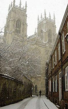 Snowy Minster.. Heworth - York, England | by jimoftheday