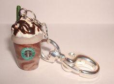 Starbucks Frappuccino Polymer Clay Charm by JoJociita on Etsy, $5.00
